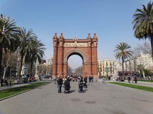 imagen arco del triunfo barcelona